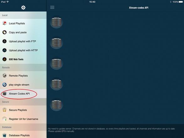 How to configure IPTV on iOS